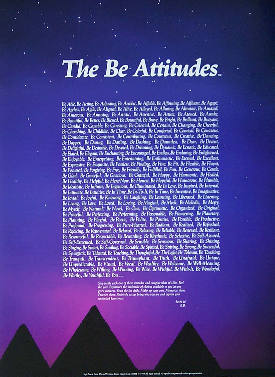 [Thumbnail for The Be Attitudes poster]